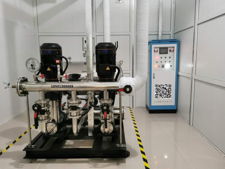 万科金阳国际公寓无负压供水系统改造