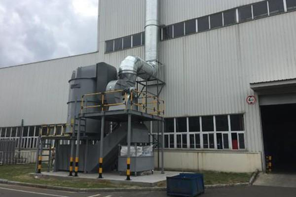 淮安除尘设备加工科朗兹环保项目