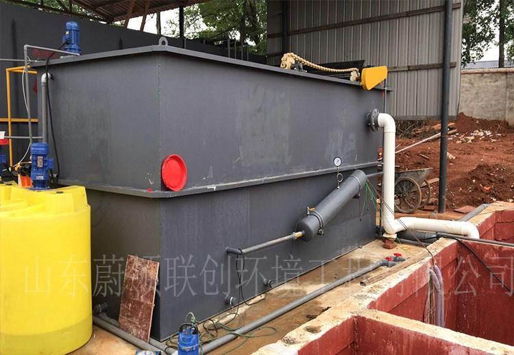 江西某屠宰场污水处理设备项目安装现场