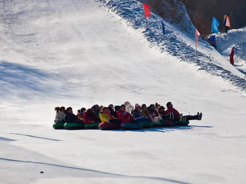 长春净月潭滑雪场