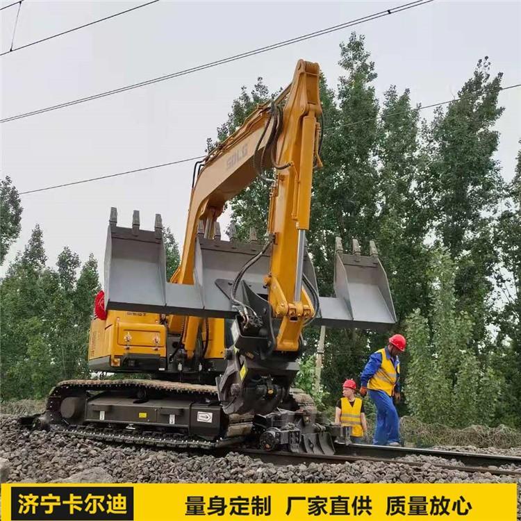 铁路换枕机 挖掘机枕木机