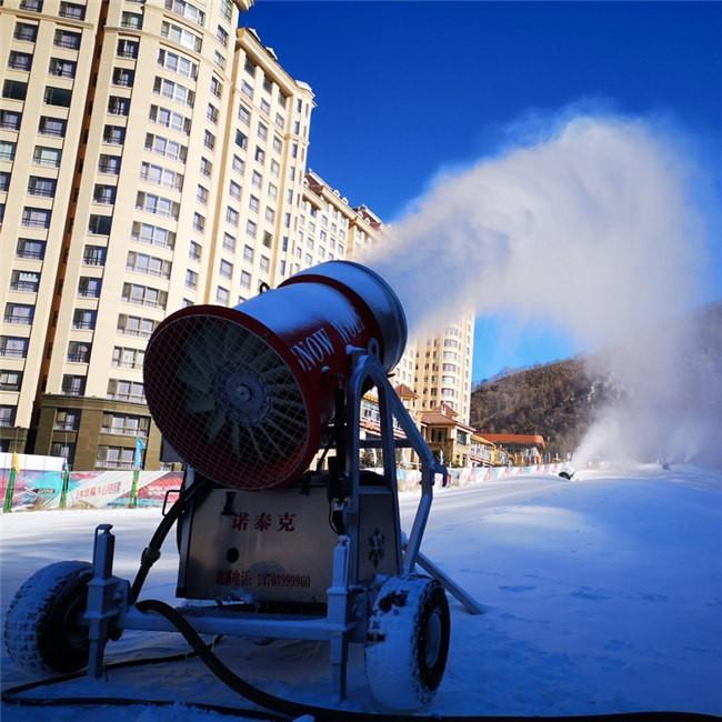 河北崇礼云顶滑雪场人工造雪系统