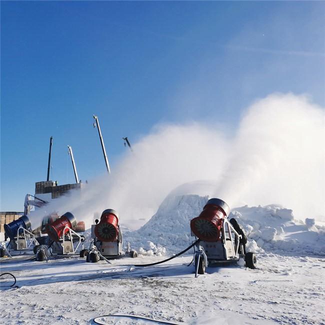 河北保定涞源七山滑雪场造雪机
