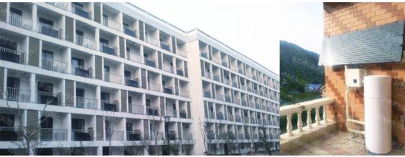 浙江湖州科技创业园员工公寓热水项目