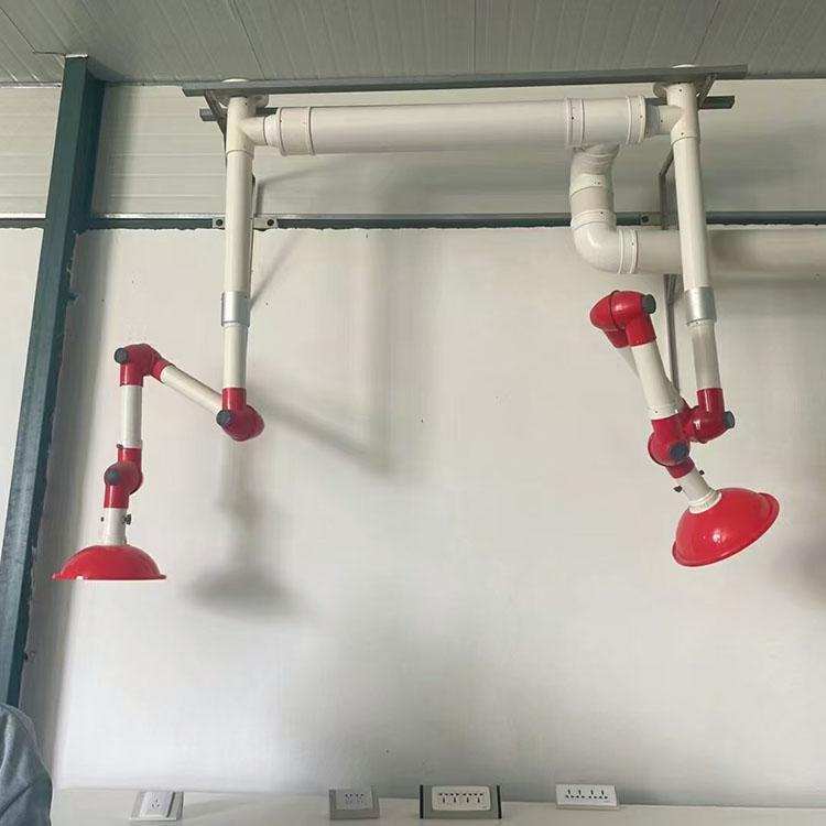 苏州奥普实验室万向抽气罩工程实图