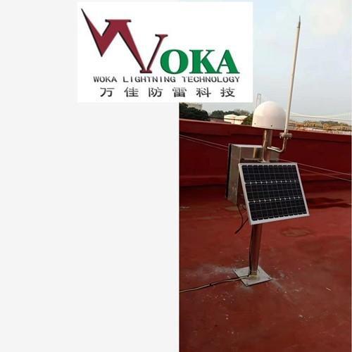 新型大气电场仪油罐区雷电预警系统