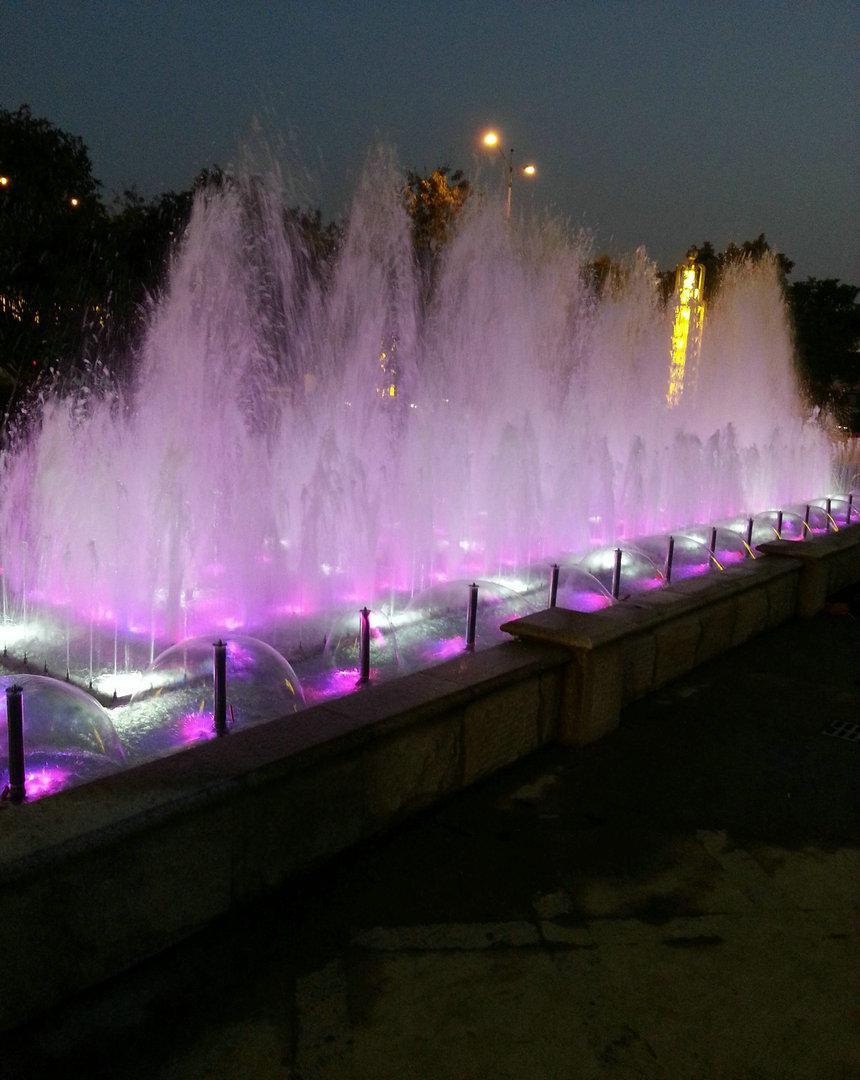 粤百年酒店文化景观喷泉工程
