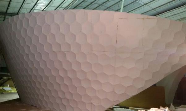 大型泡沫雕塑景观喷涂聚脲涂料项目