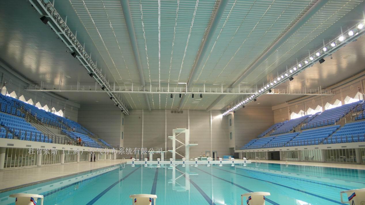索斯系统在武汉体育中心游泳馆的成功应用