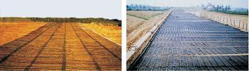 山西中南铁路通道项目单向塑料土工格栅施工