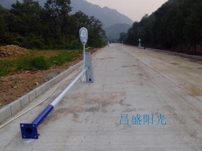 十三陵景景仰园三期_6米太阳能路灯工程