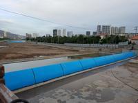 青海西宁湟水河1#液压坝