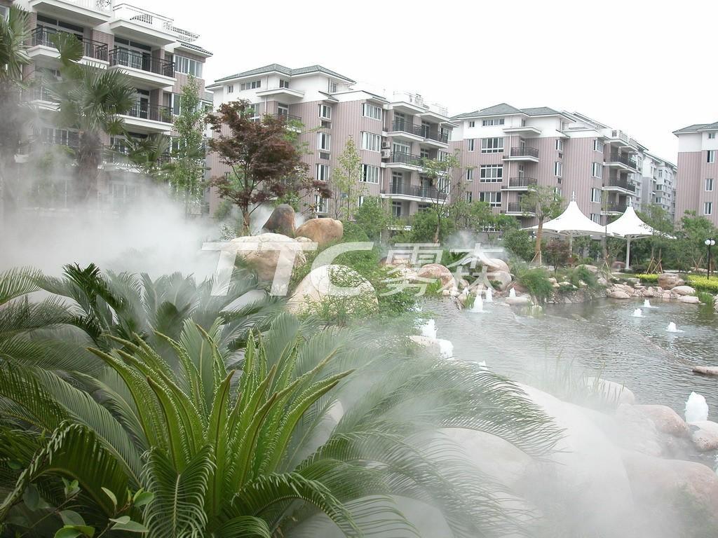 杭州中兴花园雾森项目
