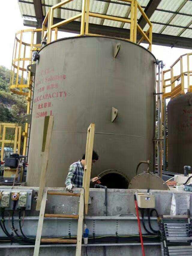 乙烯基重防腐项目---香港特区金属罐内壁