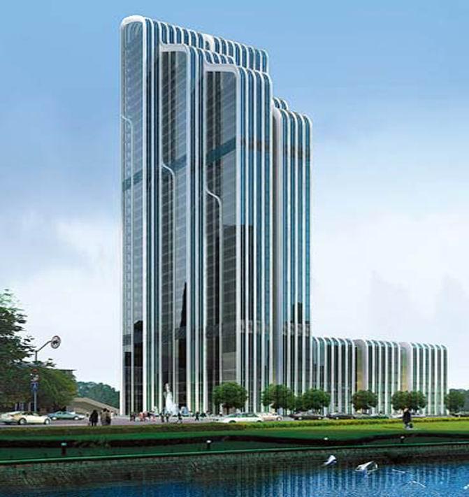 甘肃会展中心建筑群项目五星级酒店
