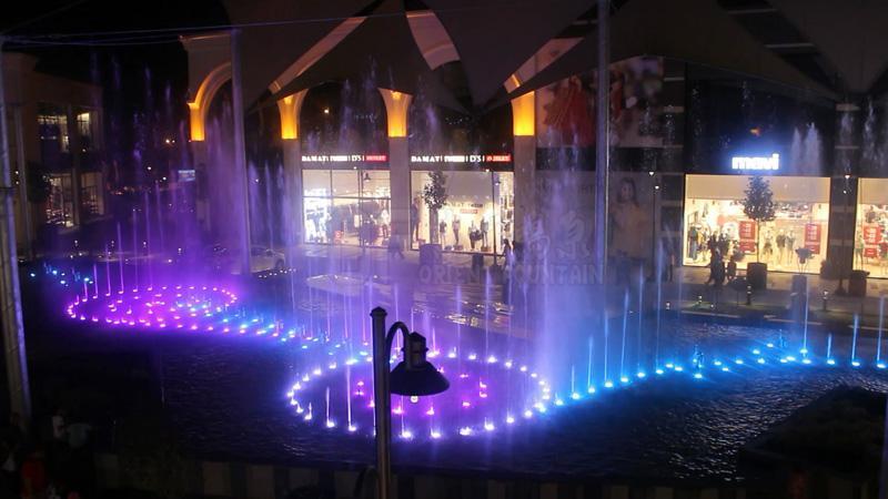 土耳其伊斯坦布尔音乐喷泉