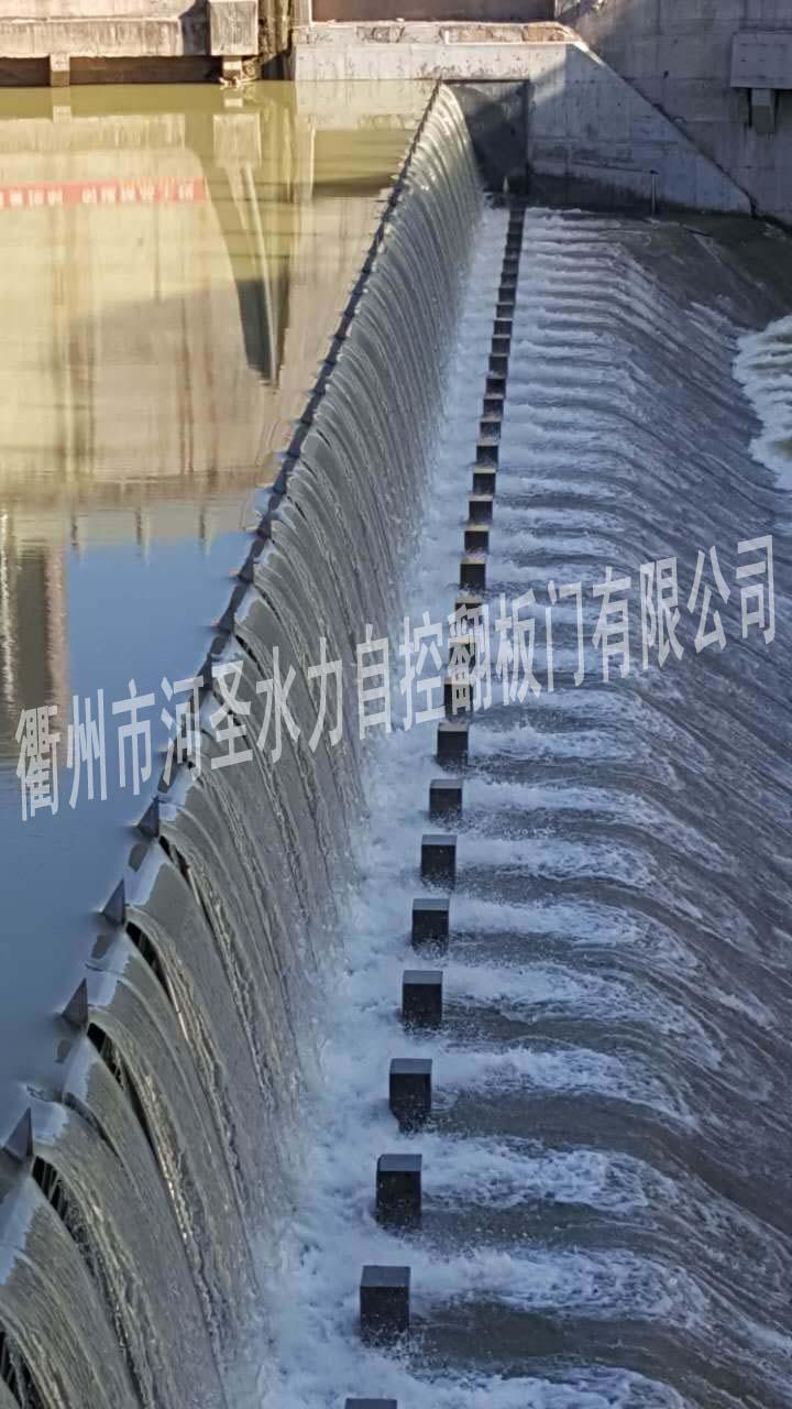 南江县城区中嘴橡胶坝水毁修复工程钢闸门