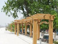 仿木材料在城市景观中的应用