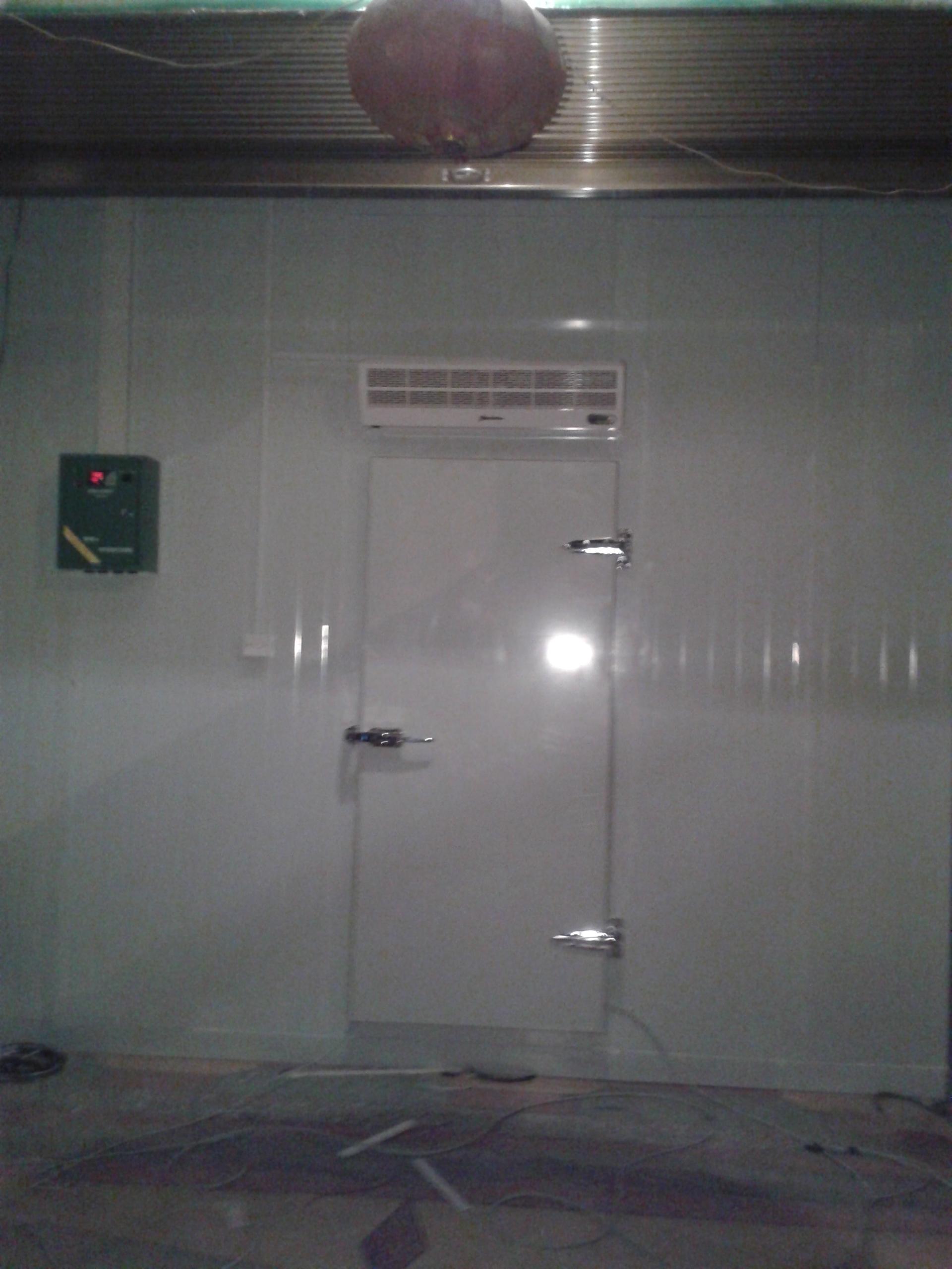 义乌哈易超市低温冷库安装项目