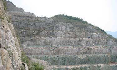 深圳东部华侨城护坡绿化工程