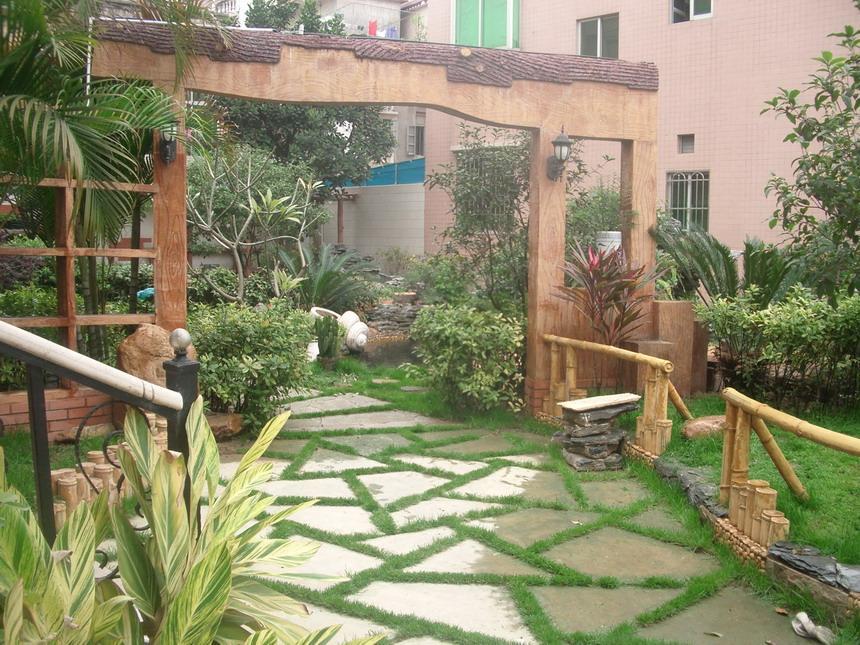 瀛州生态园别墅区庭院绿化全自动喷灌工程