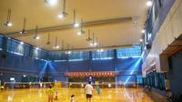 索斯纤维空气分布系统在韩爱萍羽毛球馆的应用