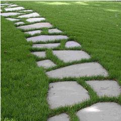 厂家直销天然碎拼石乱型石 不规则青石板公园铺路文化石碎拼板岩