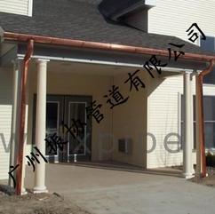 铜落水系统、铜天沟雨水槽、天沟屋檐、成品天沟