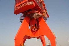 港口吊机油漆防腐