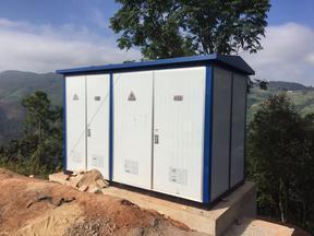 户外高压分组自动投切电容器成套装置ZRTBBZW