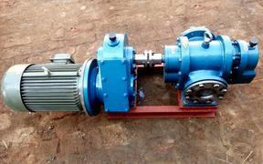 高粘度罗茨泵物料保温传送