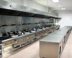 河南郑州厨房设备不锈钢餐具通风排烟油网烟罩白铁管道油烟净化器