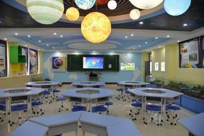 数字化地理专用教室城耀眼夺目 深圳市宝诺科教设备有限公司