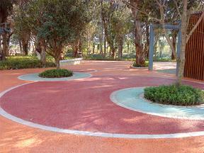 市政园林透水路面铺装材料