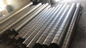 万玖生产供应各种规格风管可定做耐腐蚀耐酸碱