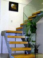 玻璃楼梯 别墅楼梯 复式房楼梯