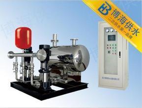 四川博海无负压供水设备可用于家用