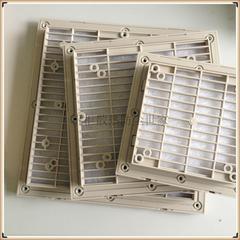 上海全锐出品圆形机柜百叶窗ZL9801A,ZL9802A直径120的圆形百叶窗通风过滤网组