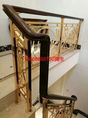 一站式铜楼梯护栏新型屏风订制