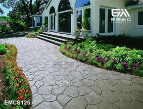 批发彩色印模地坪、彩色混凝土材料