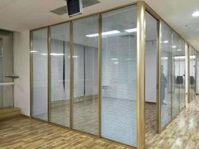 铝合金玻璃隔断,铝合金办公隔断