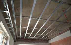 办公室装修、房间装修、轻钢龙骨吊顶装修