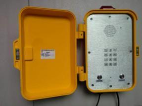 隧道免提防水电话 ,管廊免提对讲电话,声光扩音电话