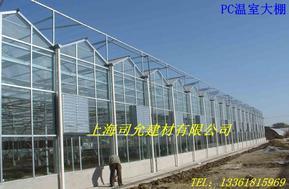 厂家供应农业温室大棚专用PC阳光板