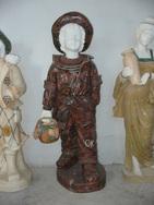 罗马柱风水球