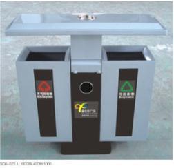 鋼結構垃圾箱/鋼結構垃圾桶SQ8-023