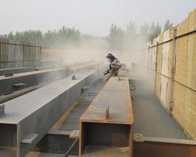 湖南钢结构喷砂防腐