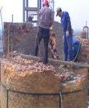 烟囱拆除、砖烟囱拆除,专业拆除烟囱