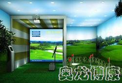 室内模拟高尔夫