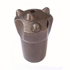 4齿锥孔连接40mm直径球齿钎头 柱齿钻头